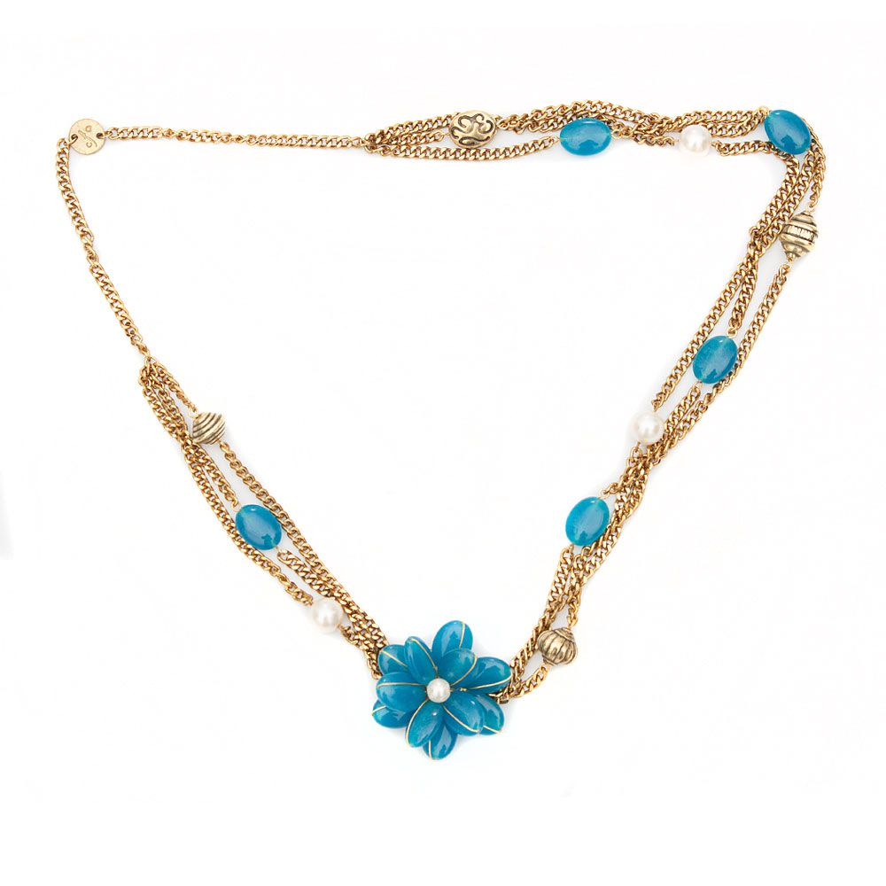 Floral Layers Necklace