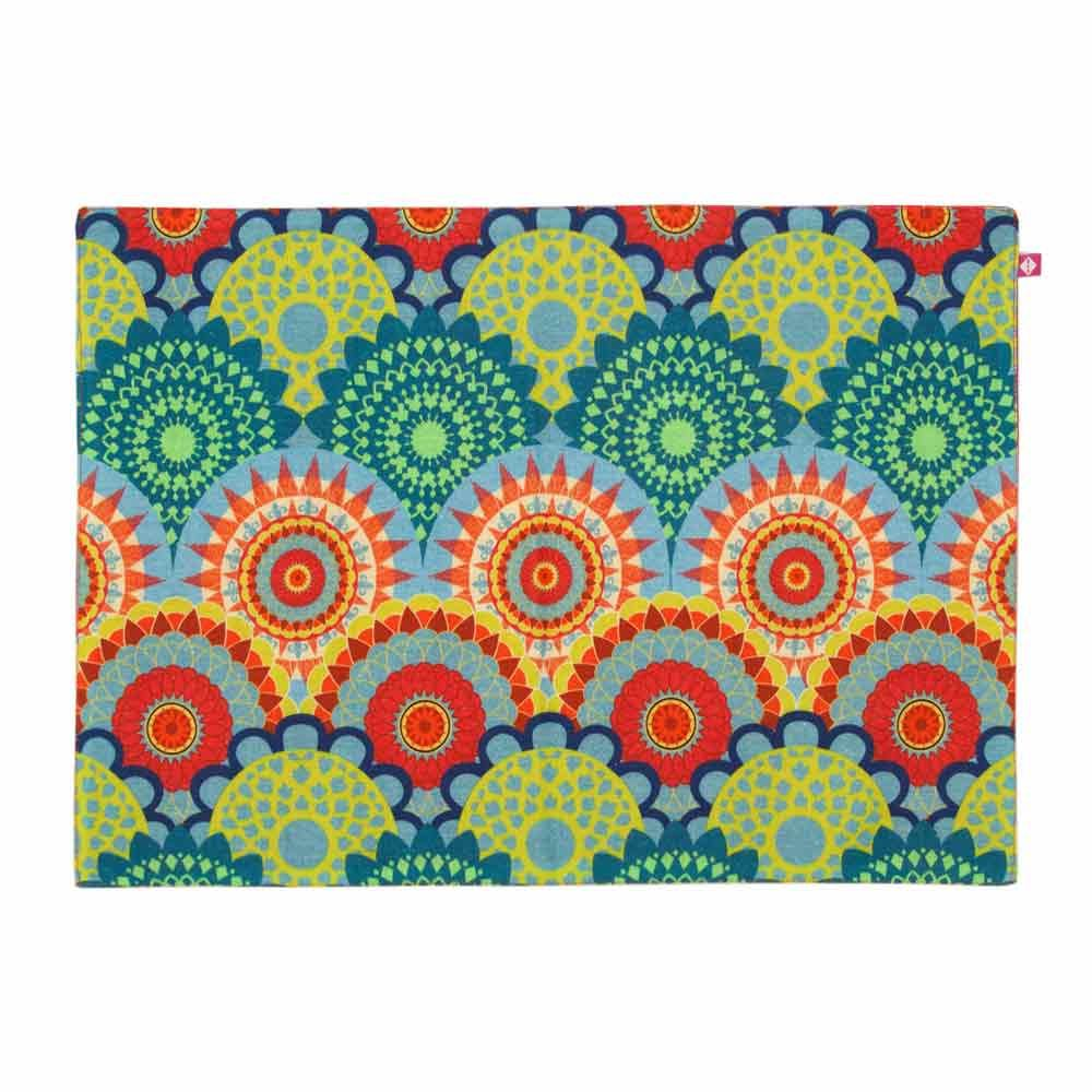 Ecliptic Lei Table Mats and Napkins Set