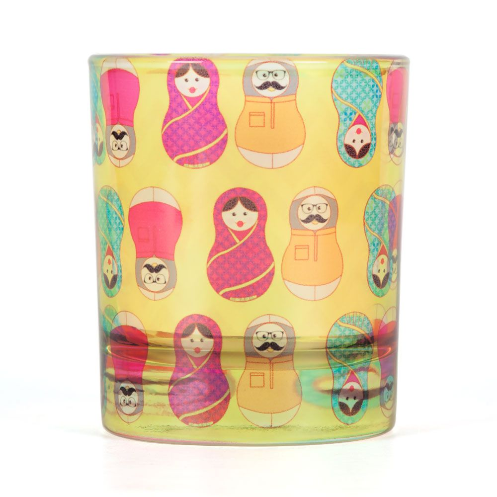 Desi Matryoshka Dolls Old Fashioned Tumbler
