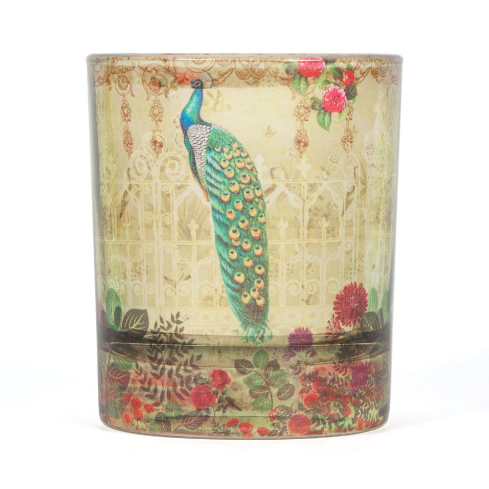Song of the Peacock Old Fashioned Tumbler