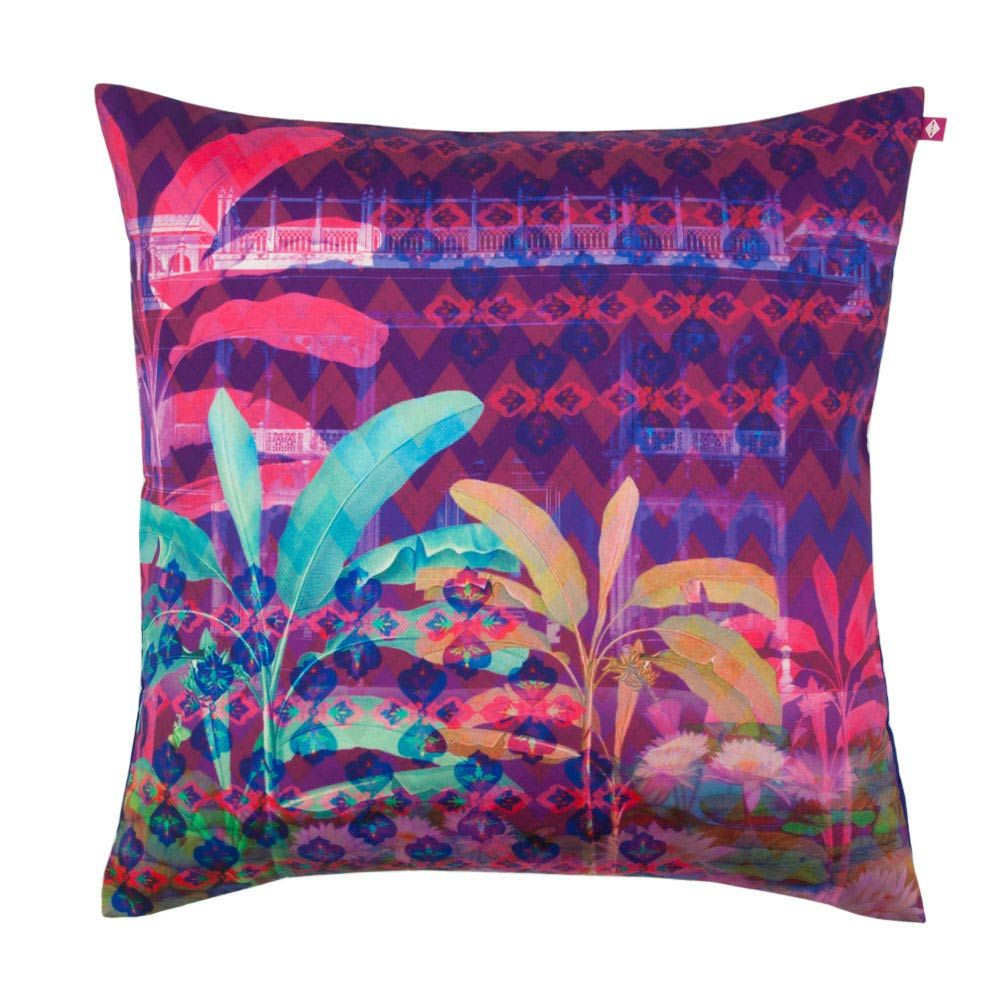 Neon Paradise Poly Taf Silk Cushion Cover