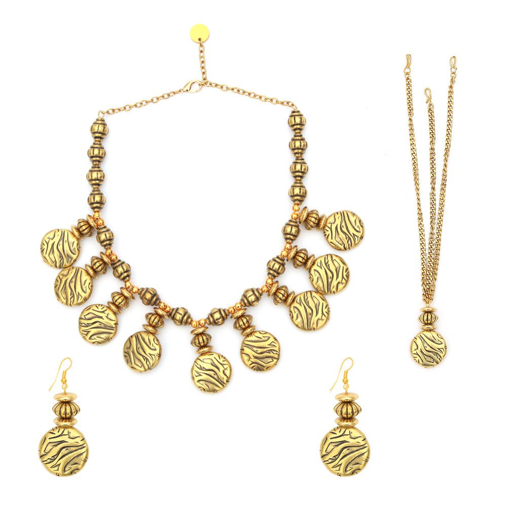 Old is Gold Necklace and Earring set