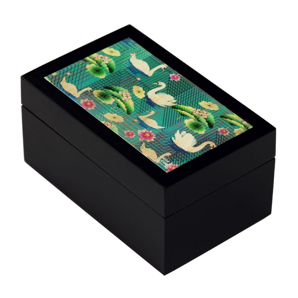 Song of Swans Small Storage Box