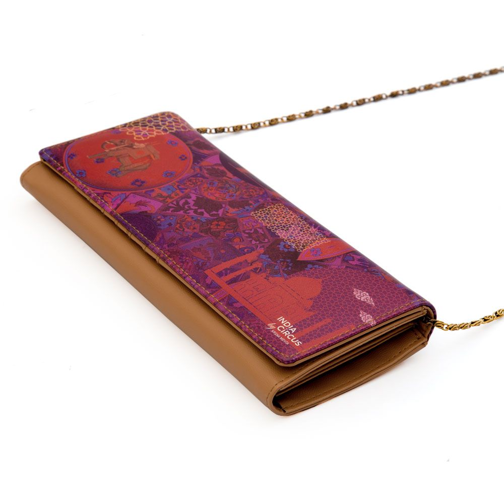 Violet Fusion Ladies Wallet