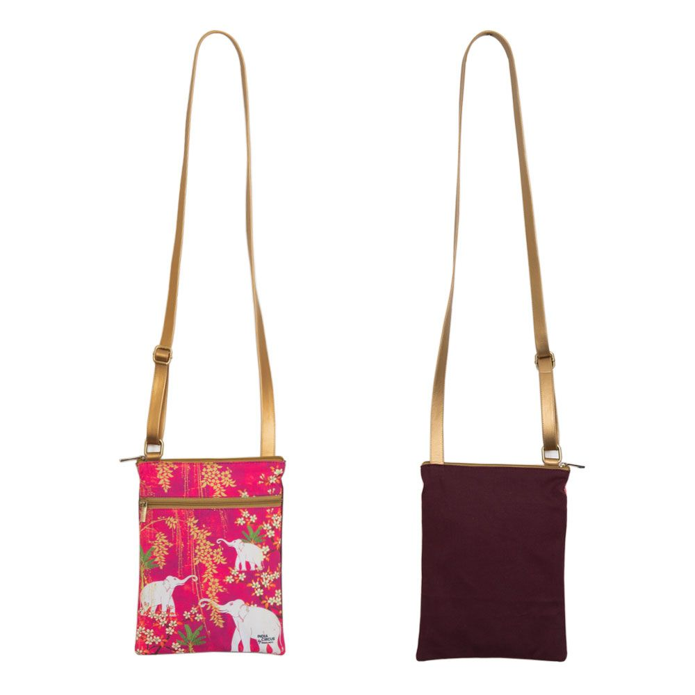 Scarlet Tusk Sling Bag