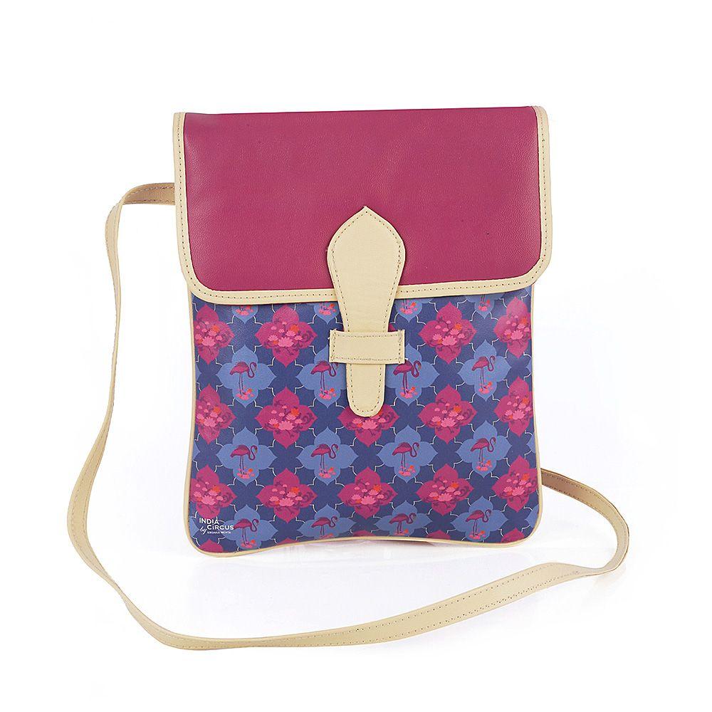 Craving Fuschia Looped Sling Bag