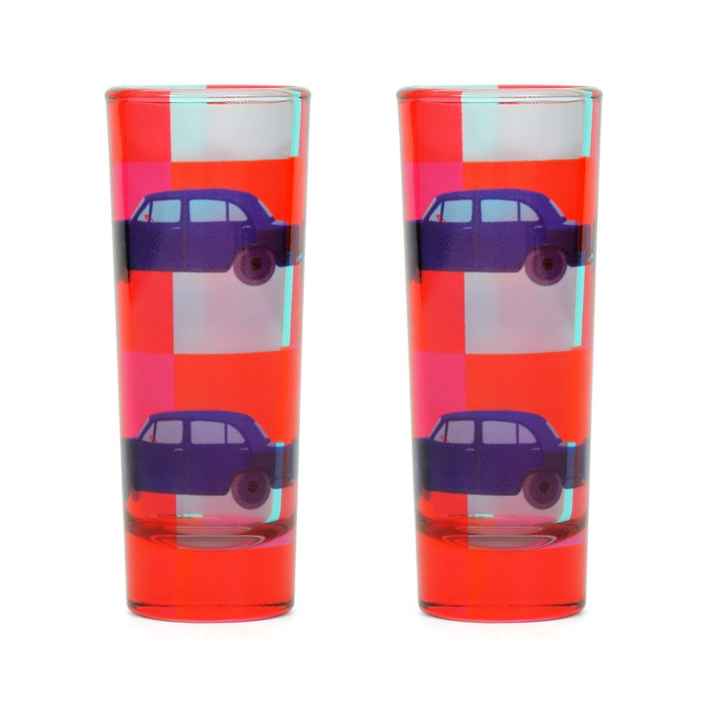 Vintage on Wheels Shot Glasses