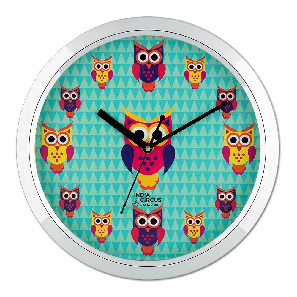 Disco Hedwig Wall Clock