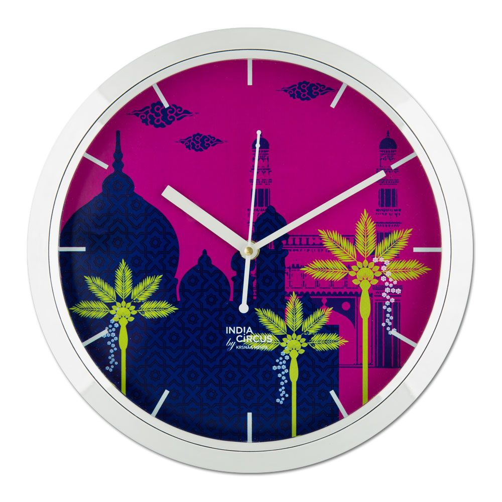 Arabian Enamor Wall Clock