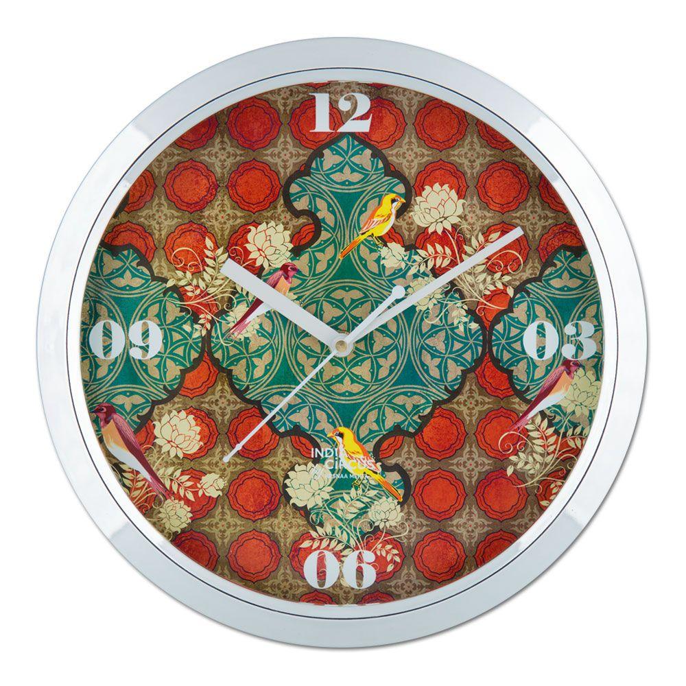 Avian Illusions Wall Clock