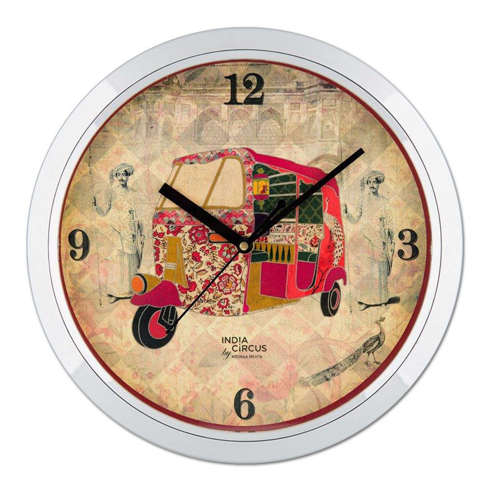Auto Tripping Mason Wall Clock