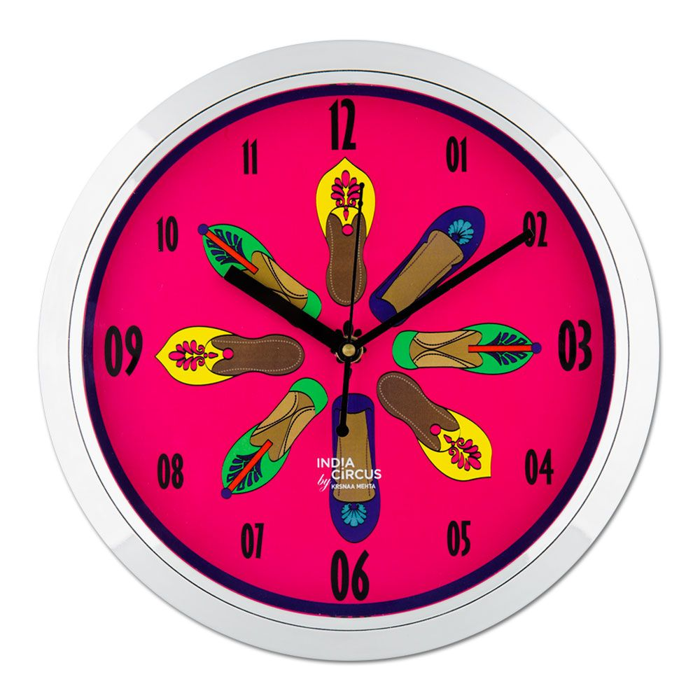 Technicolor Jootis Wall Clock