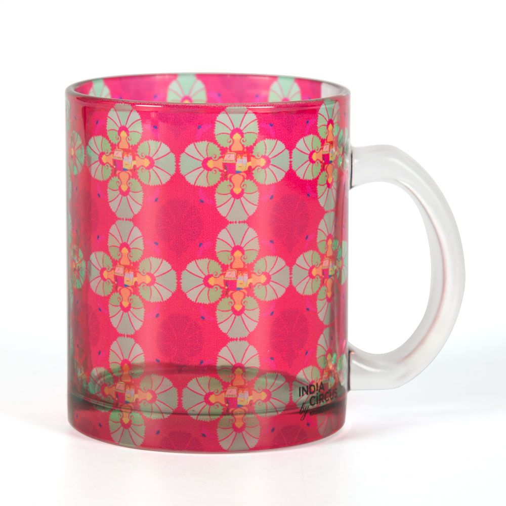 Kitsch Kalaeidoscope Glass Mug