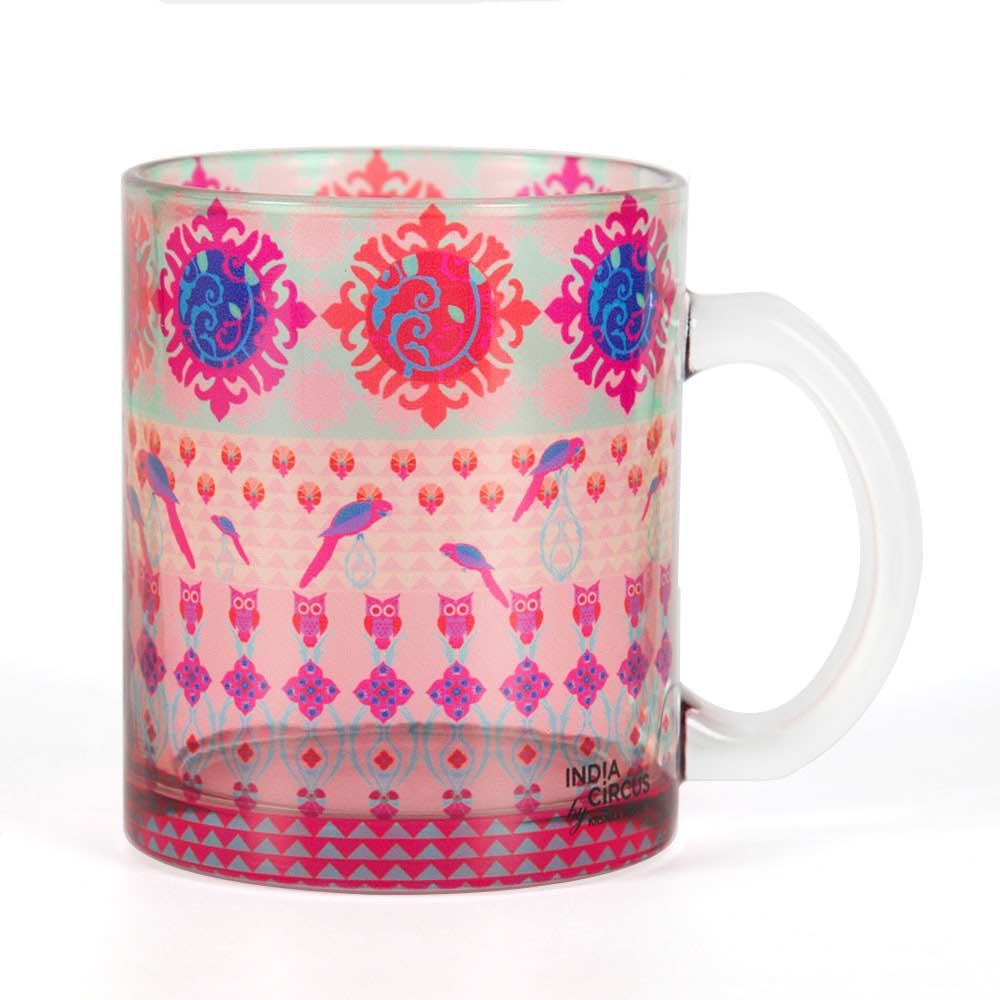 Tropical Wonderland Glass Mug