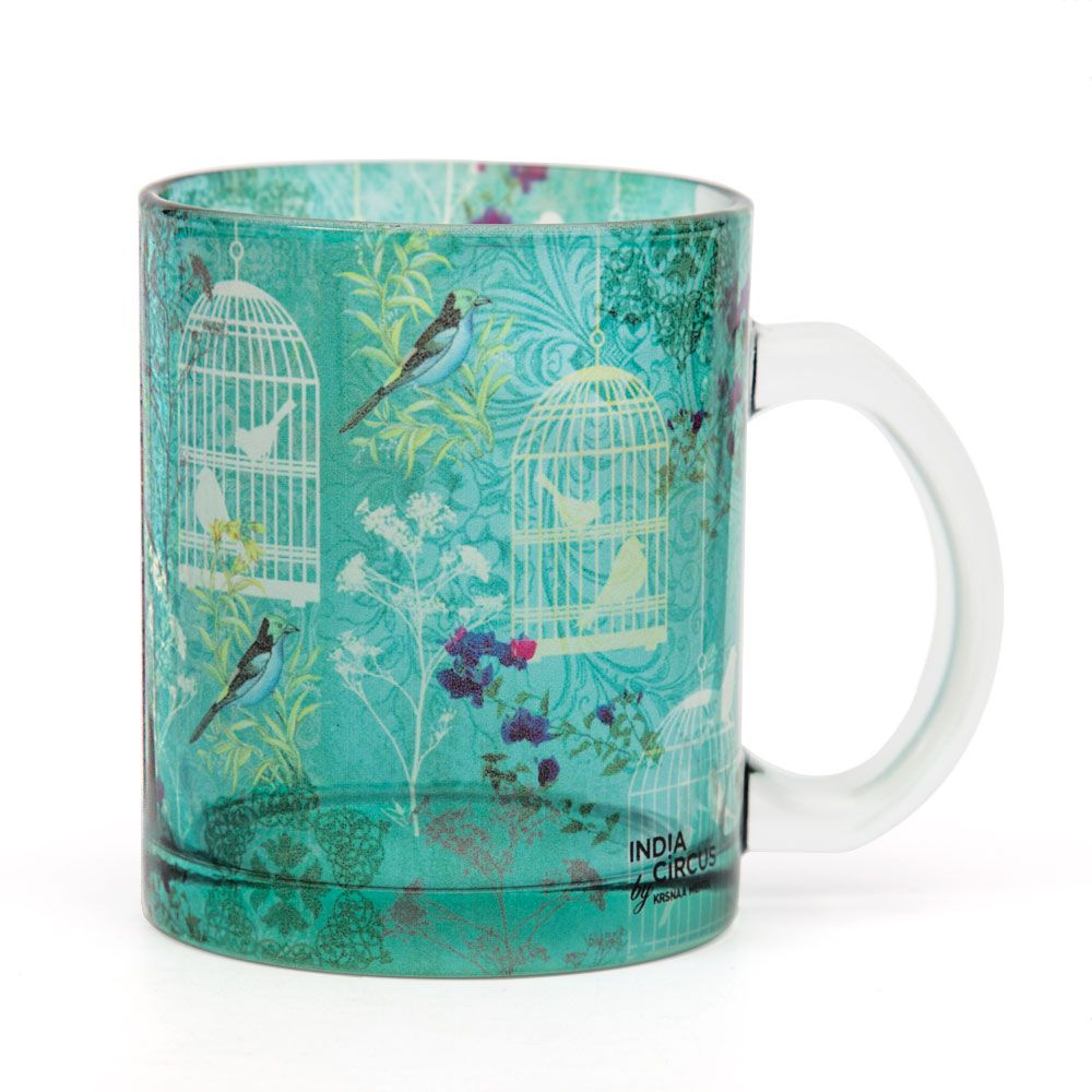 Freedom is Blissful Glass Mug