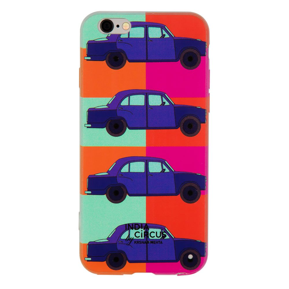 Vintage on Wheels iPhone 6 Cover