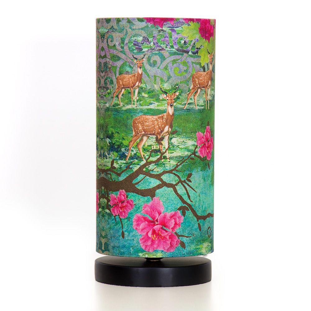 Garden of Shangrila Round Table Lamp