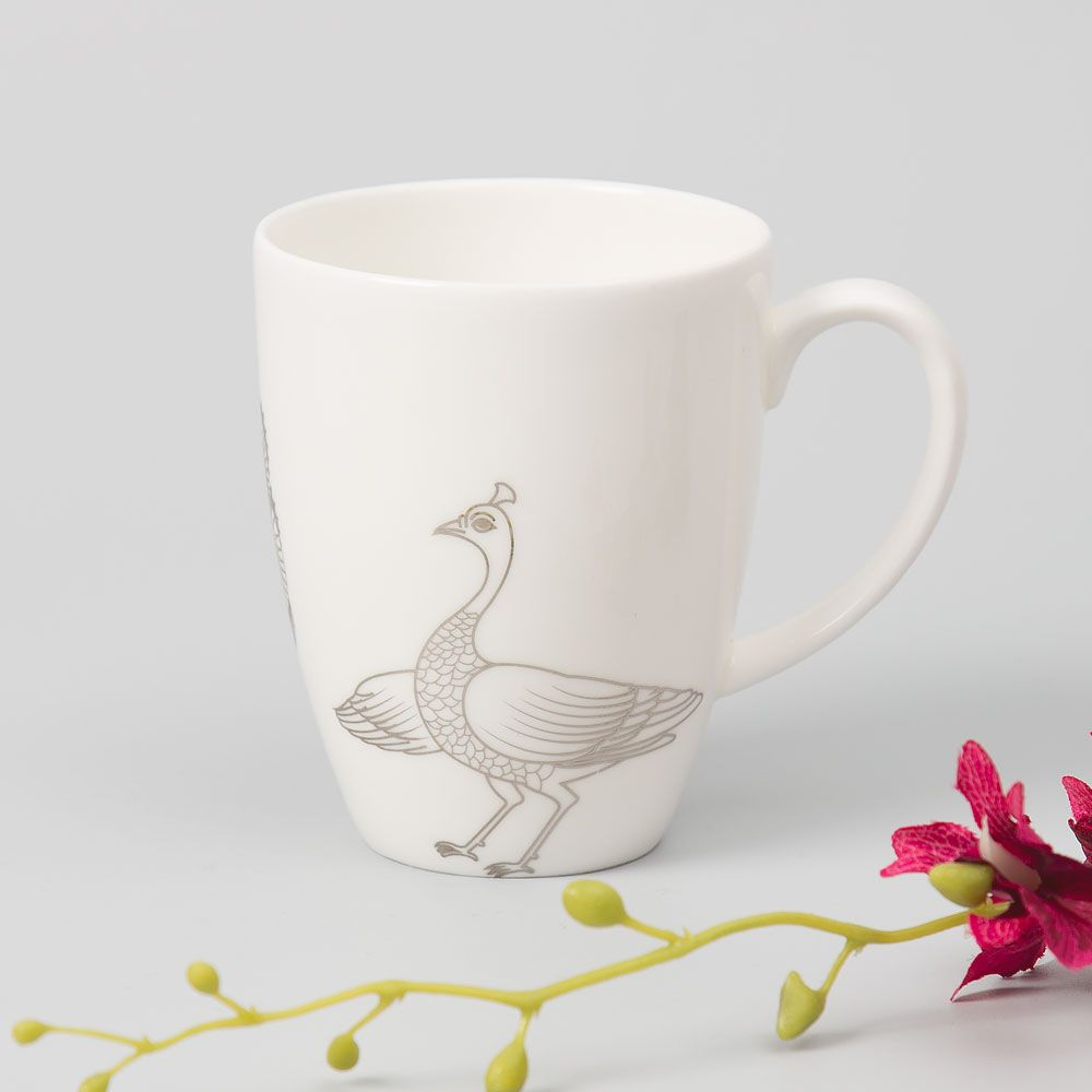 Peacock of Preciousness Mug