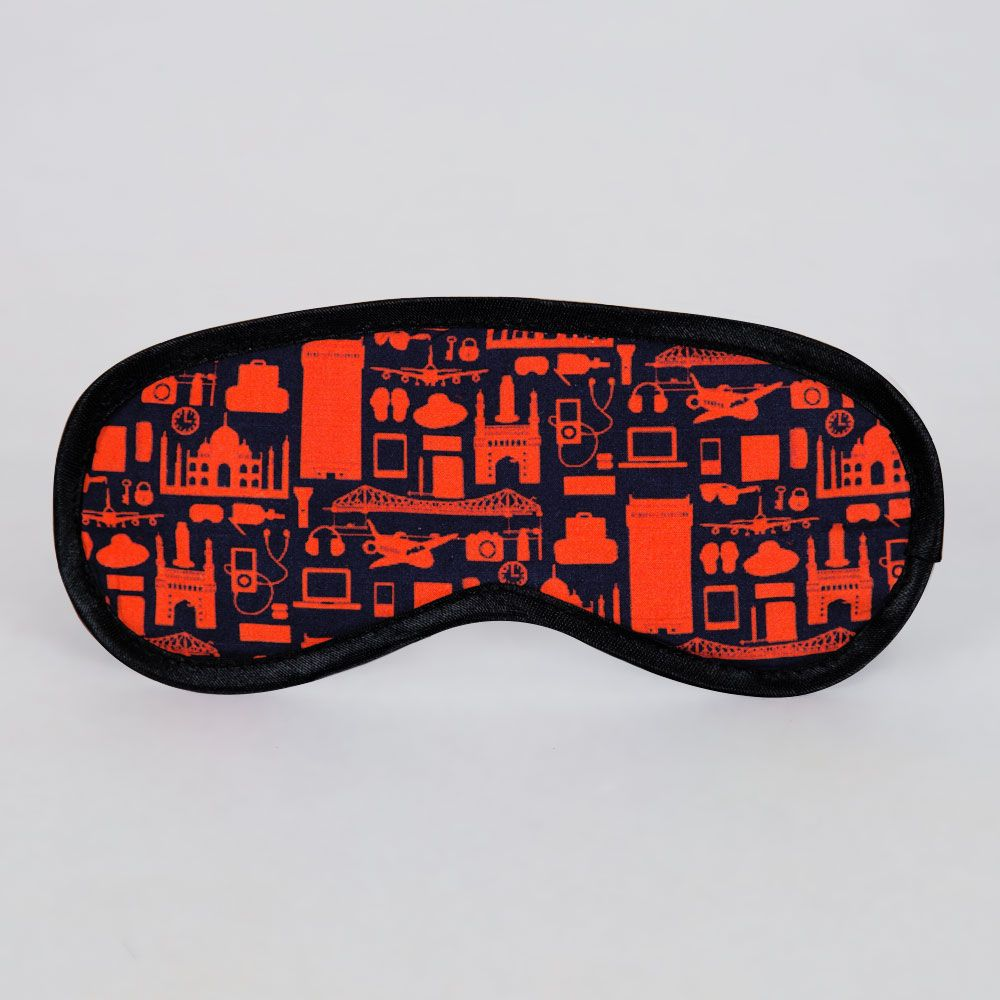 Urban Meshes Eye Mask