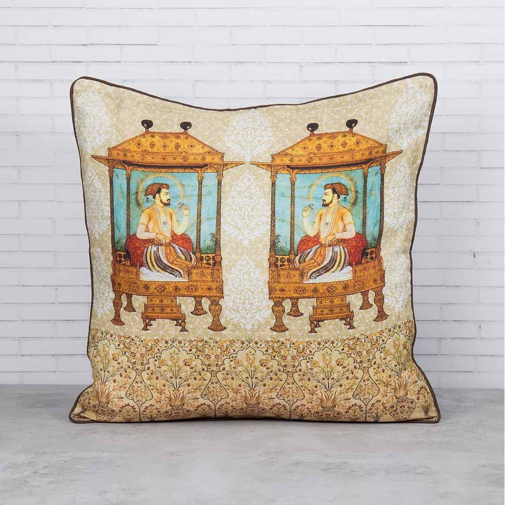 Emperor of Dreams Linen Cushion Cover