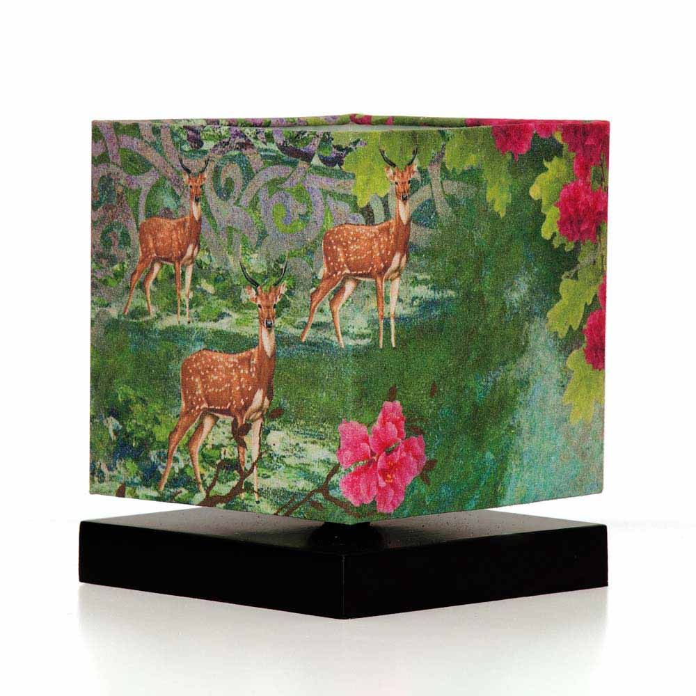 Garden of ShangriLa Square Table Lamp