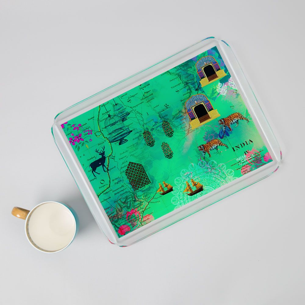 Desi  Wonderland Acrylic Tray