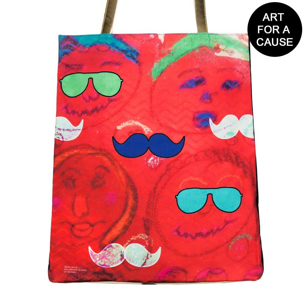 Potrait of Desire Gateway Jhola Bag