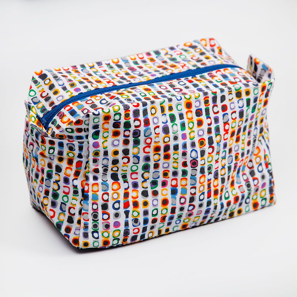 Opalescent Aura Toiletry Bag