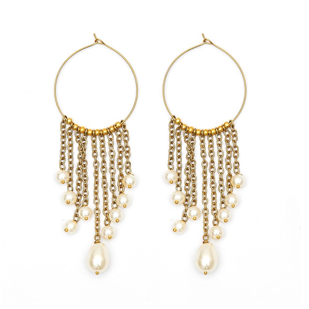 Chained to Charm Earrings