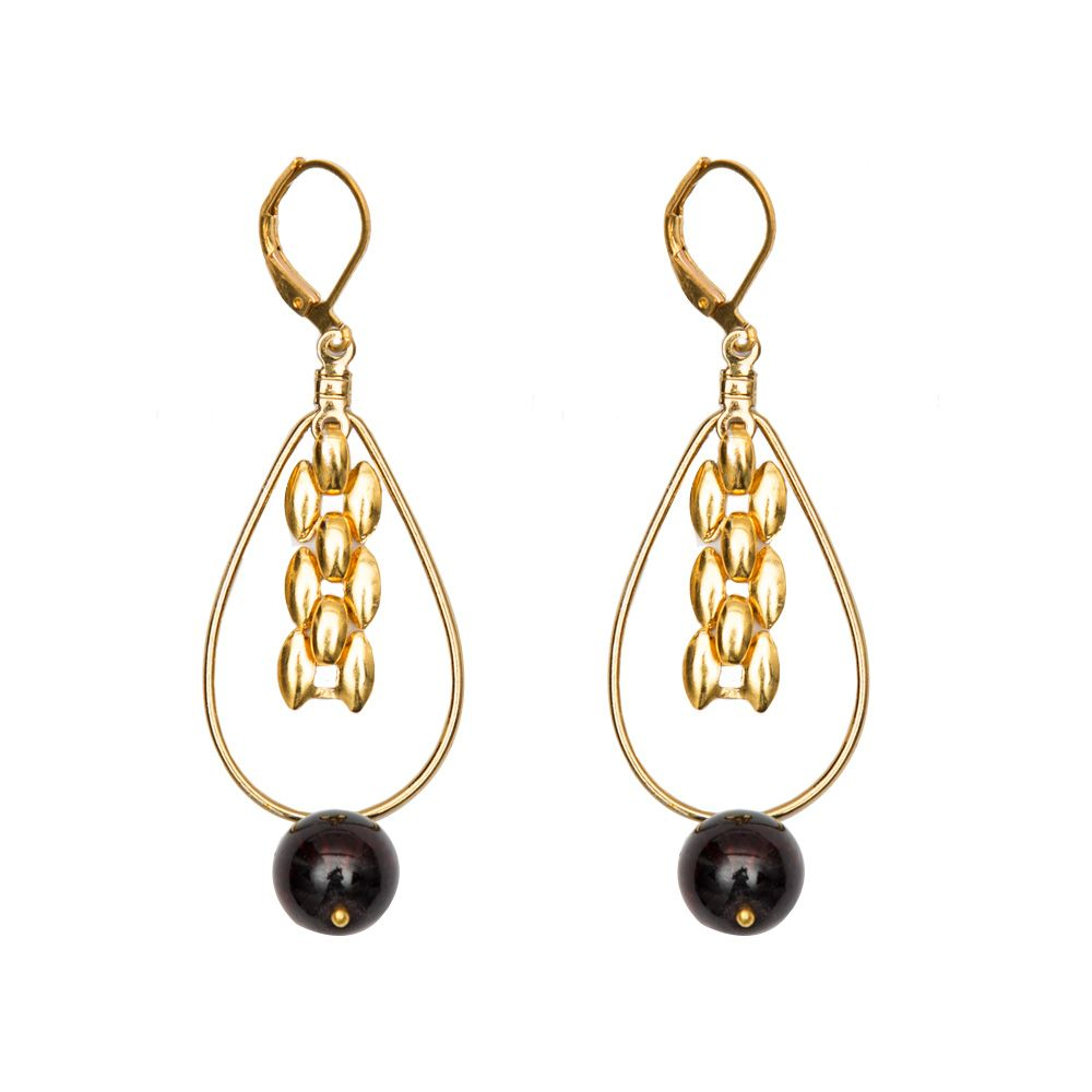 Drops of Fire Earrings