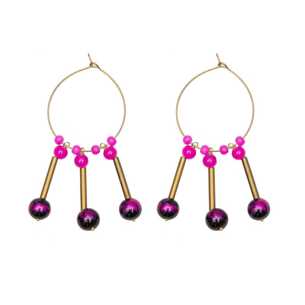 Fuchsia Fervor Earrings