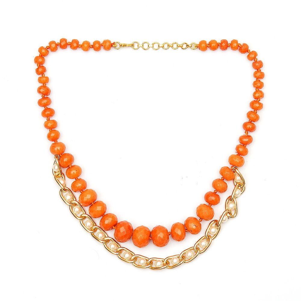 Coral Enchantment Necklace