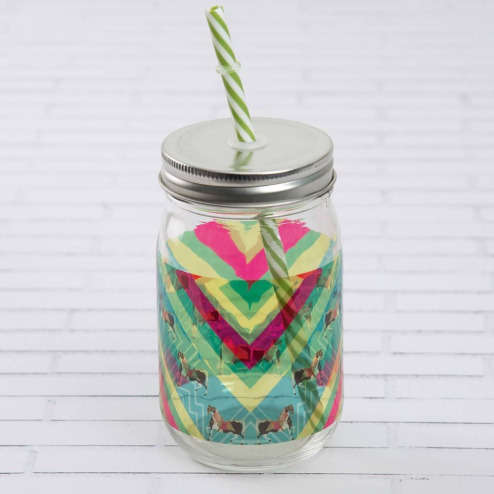 Astute Pleasures Mason Glass Jar