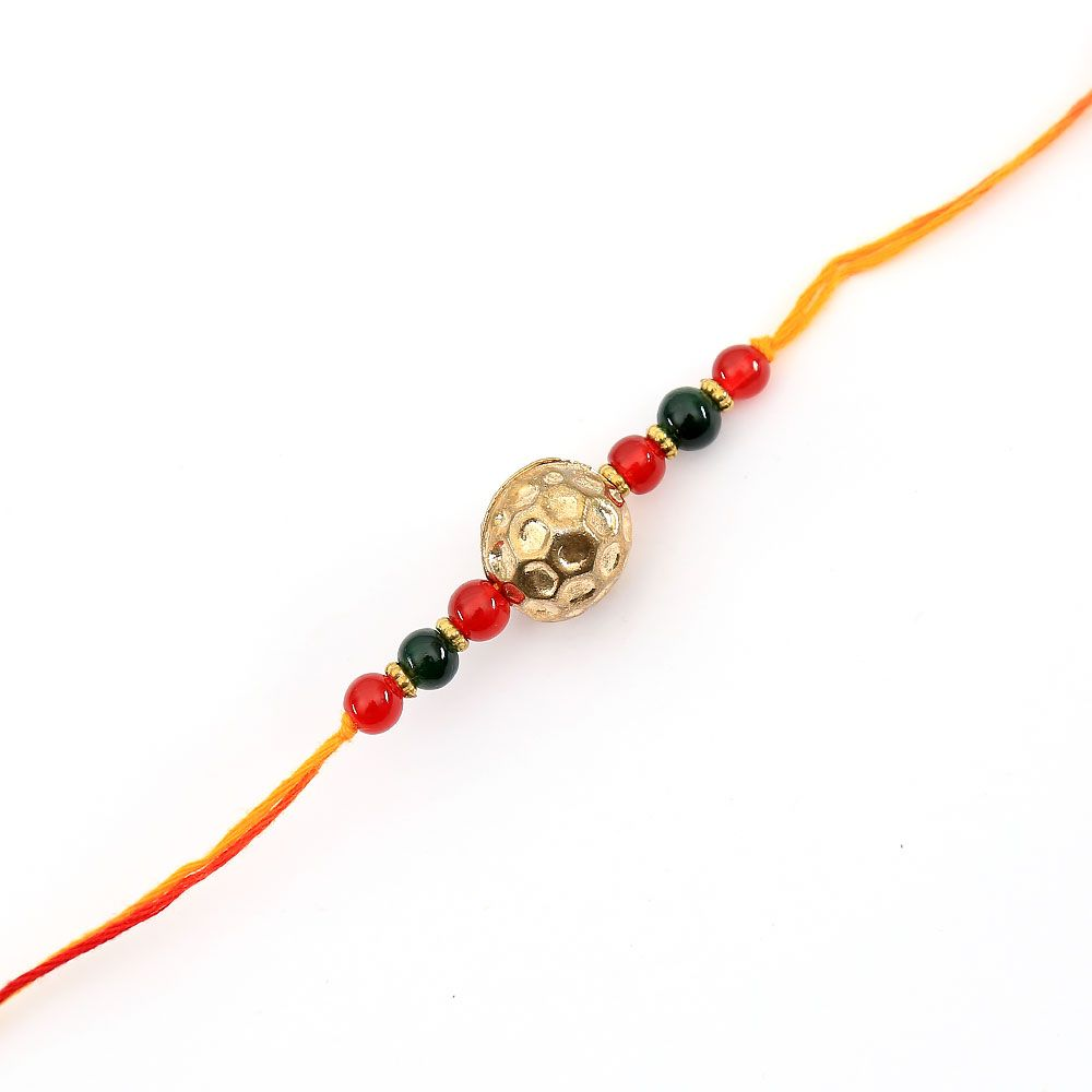 Twin coloured Gem Rakhi