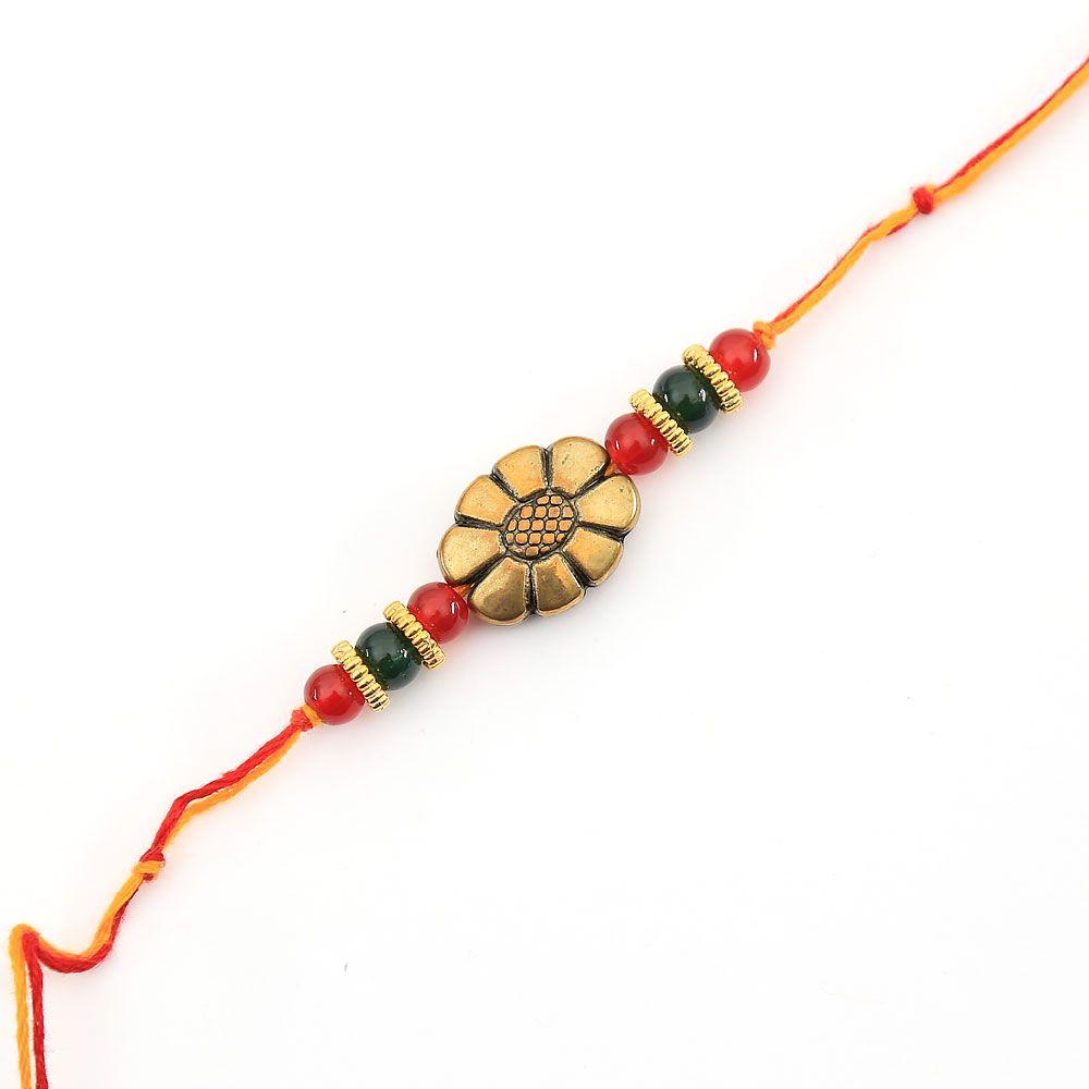 Floral Pattern Rakhi