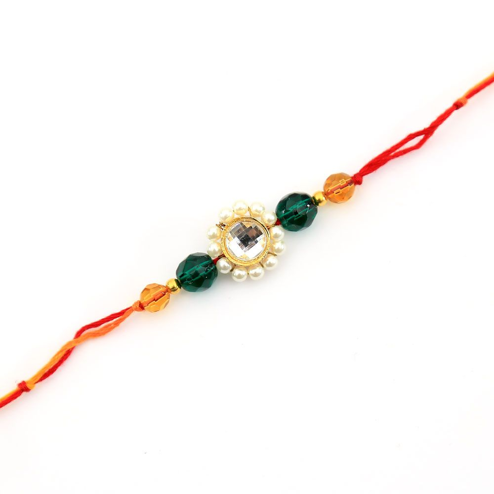 String of Devotion Rakhi