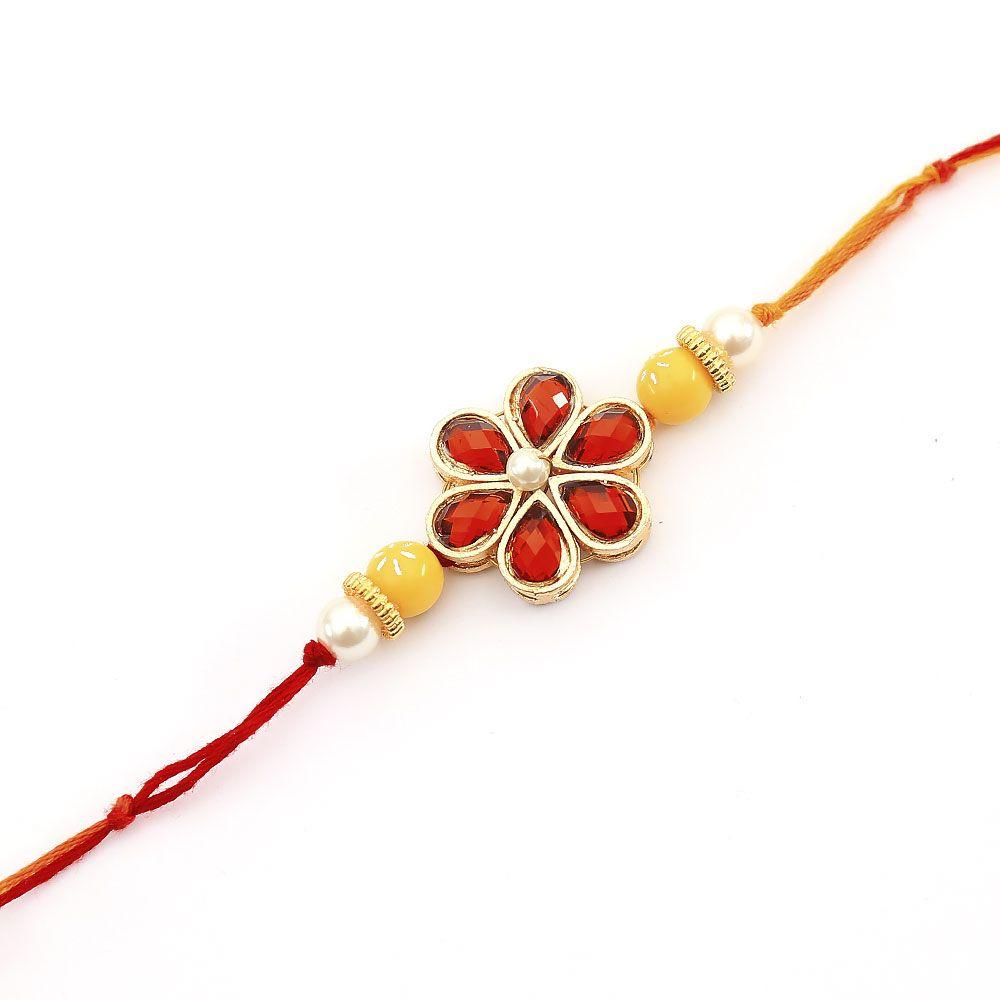 Resham Flower Rakhi