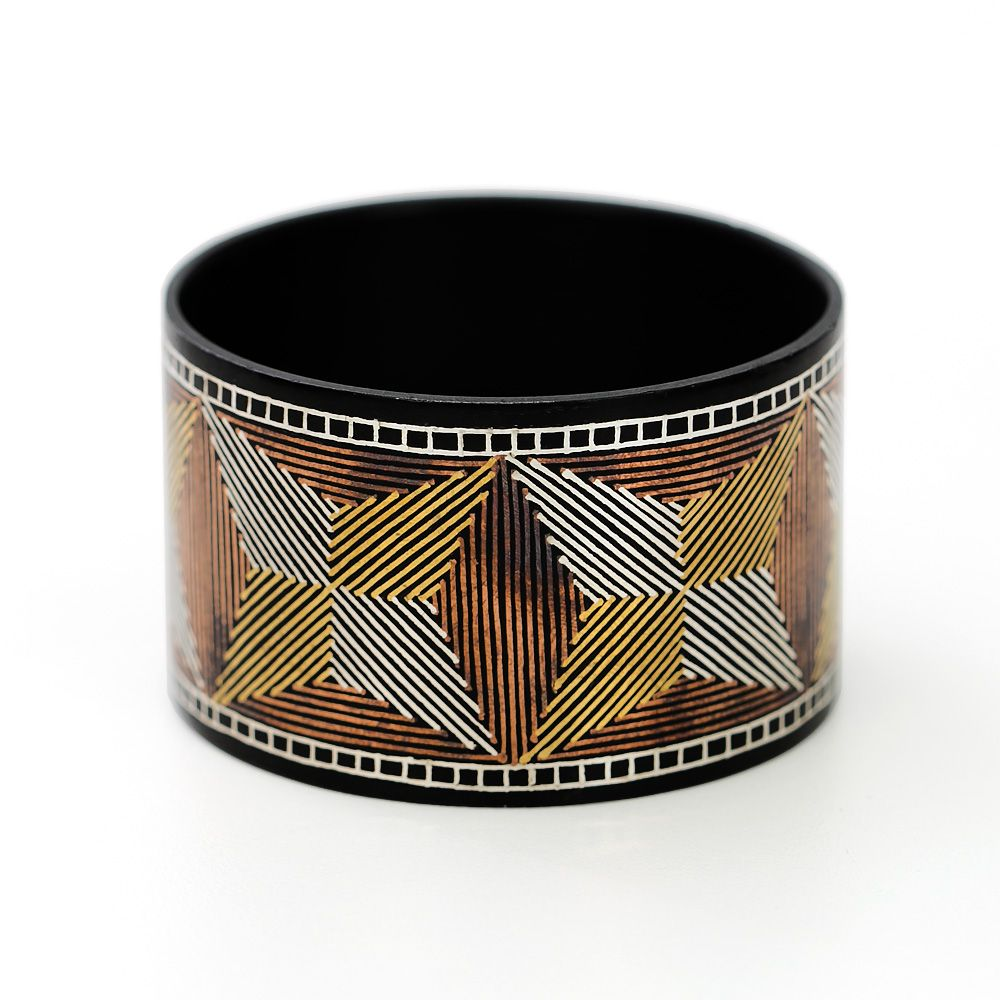 Ancient Bahamani Mesh Bangle