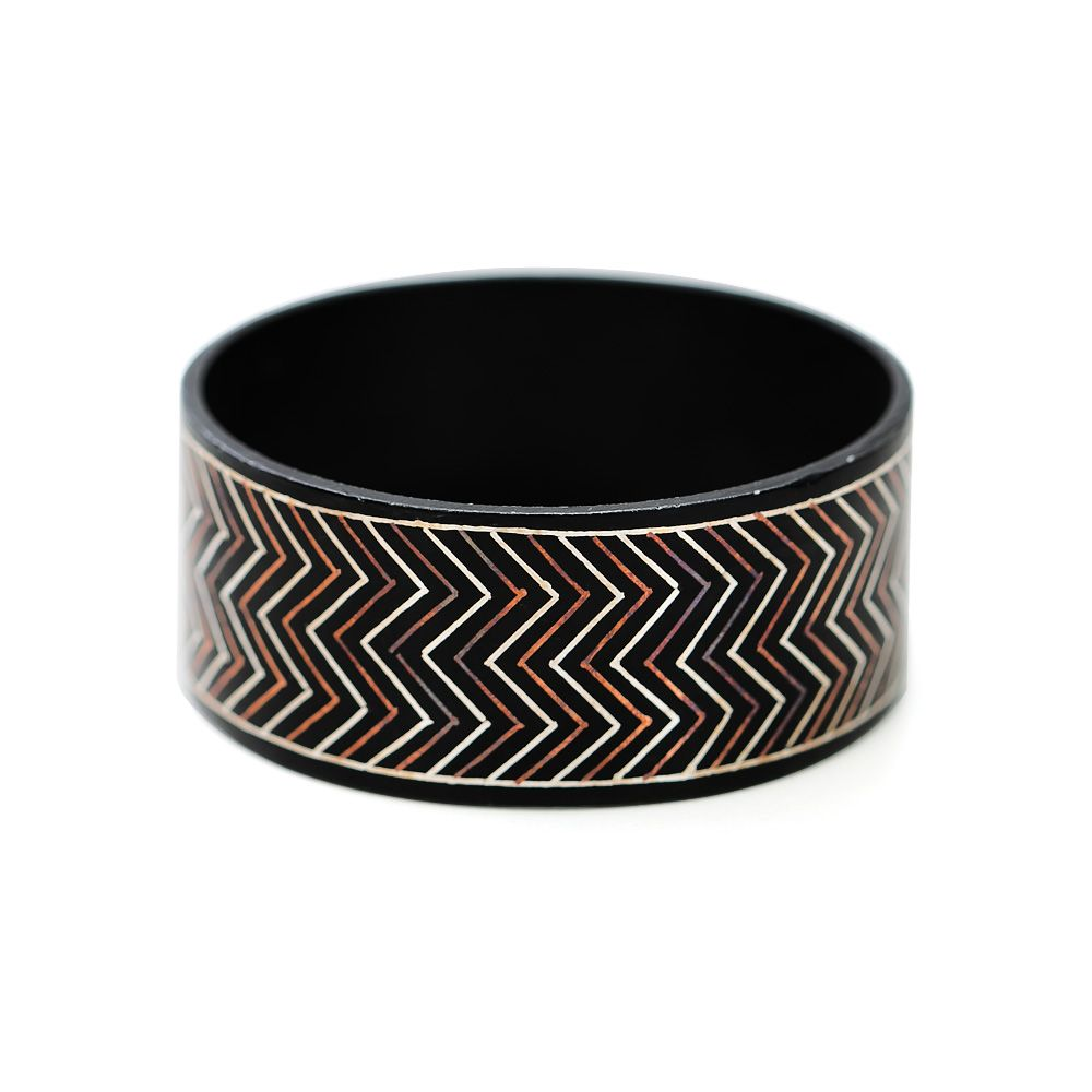 Chevron Desires Wrist Bangle