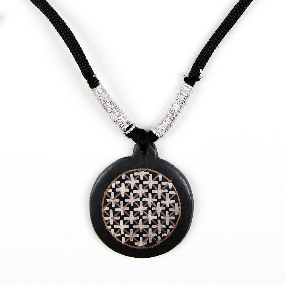 Ellipse of Bidar Necklace