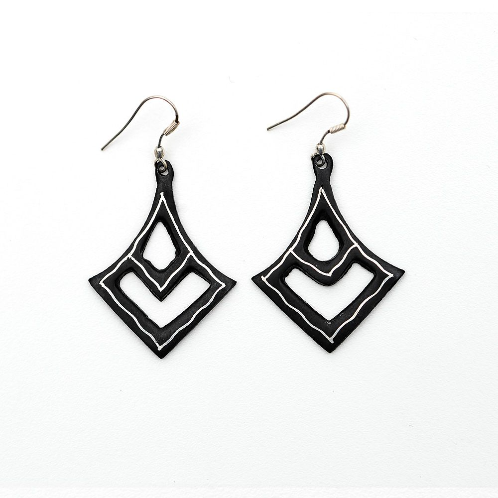 High Persian Tarkashi Earrings