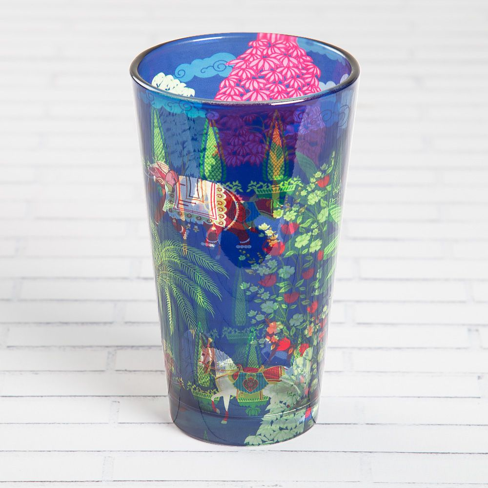 Royal High Garden Glass Tumbler