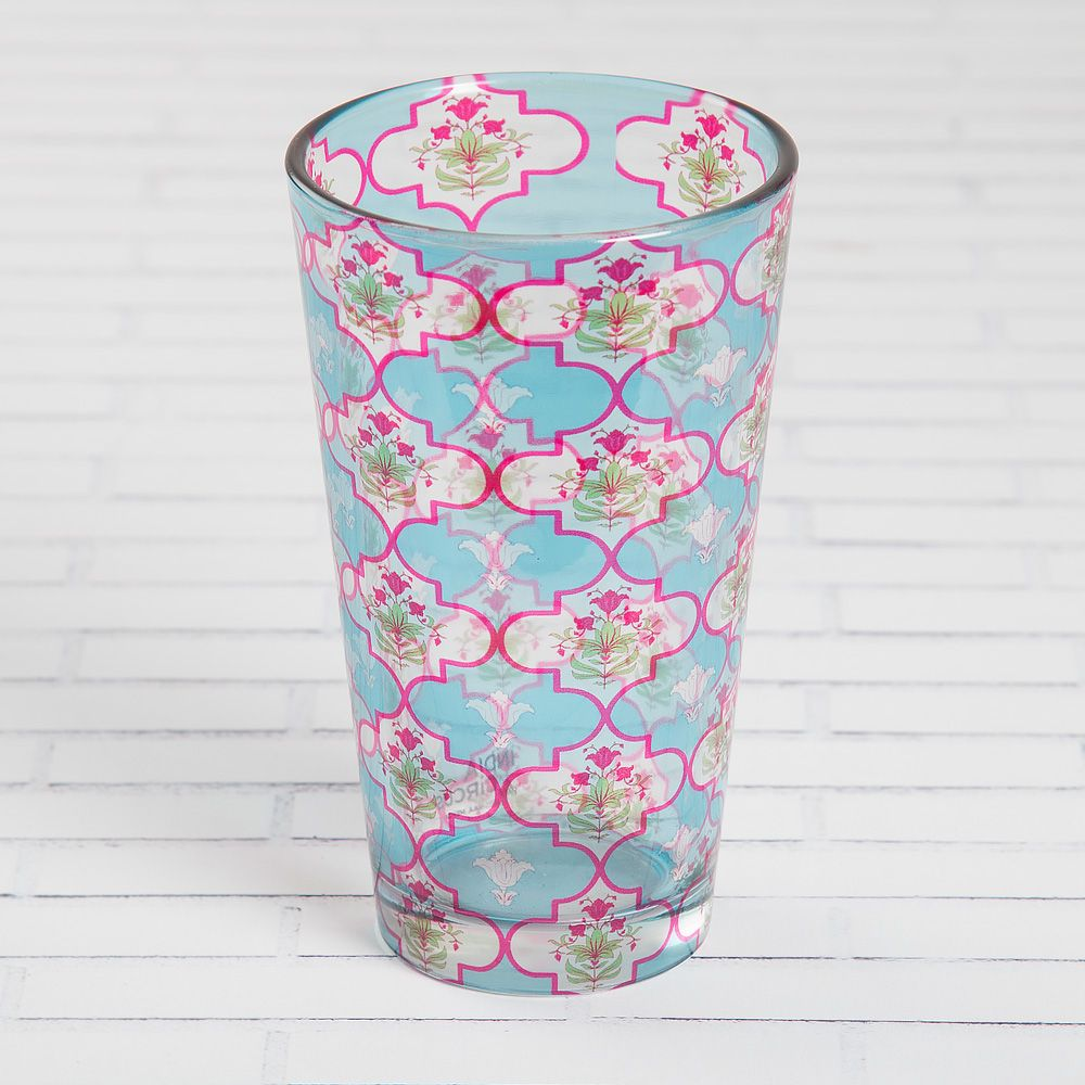 Lattice Treasures Glass Tumbler