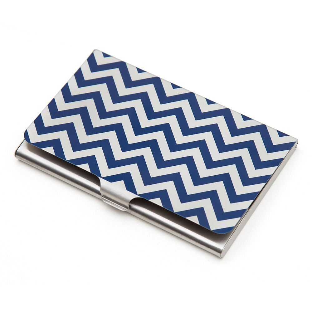 Chevron Melavo Visiting Card Holders