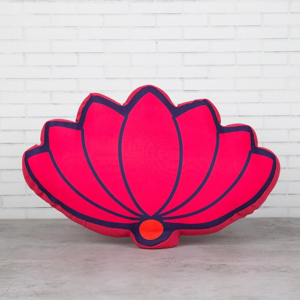 Lotus Opus Shaped Cushion