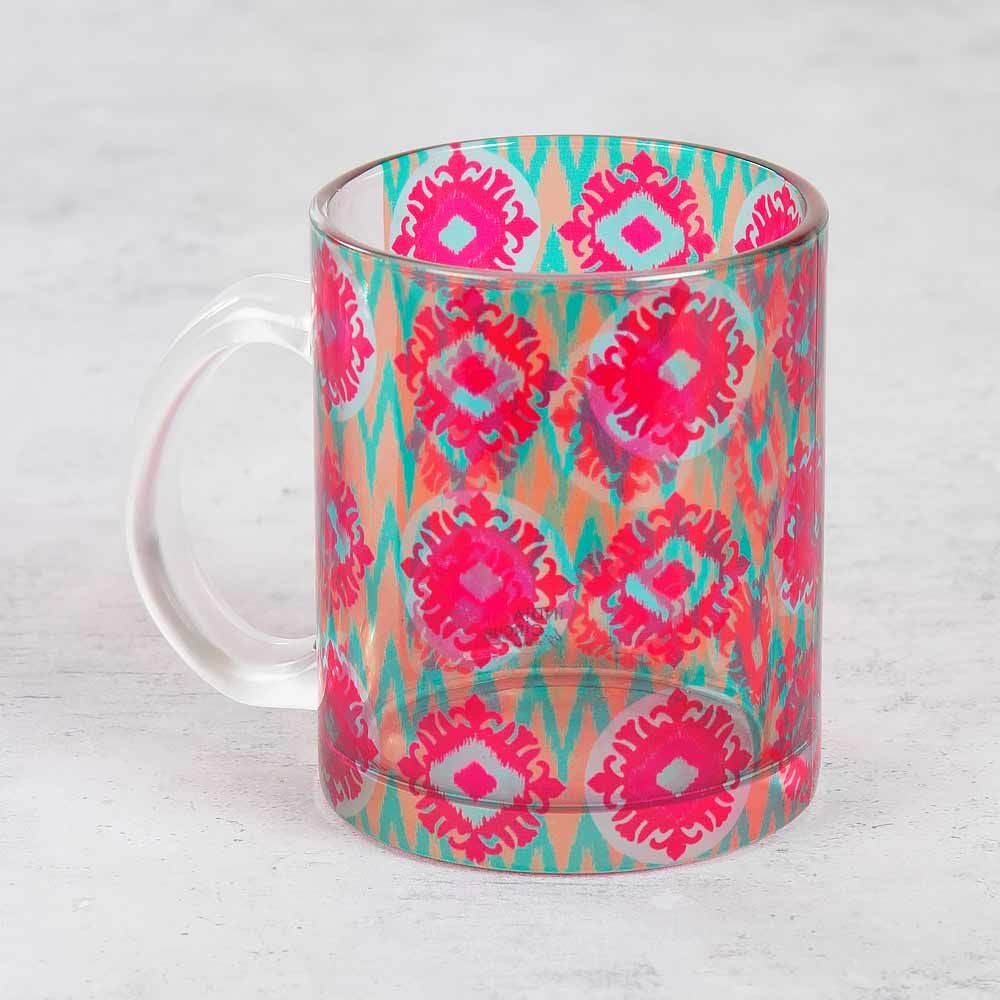 Hummingbird Heartbeat Glass Mug