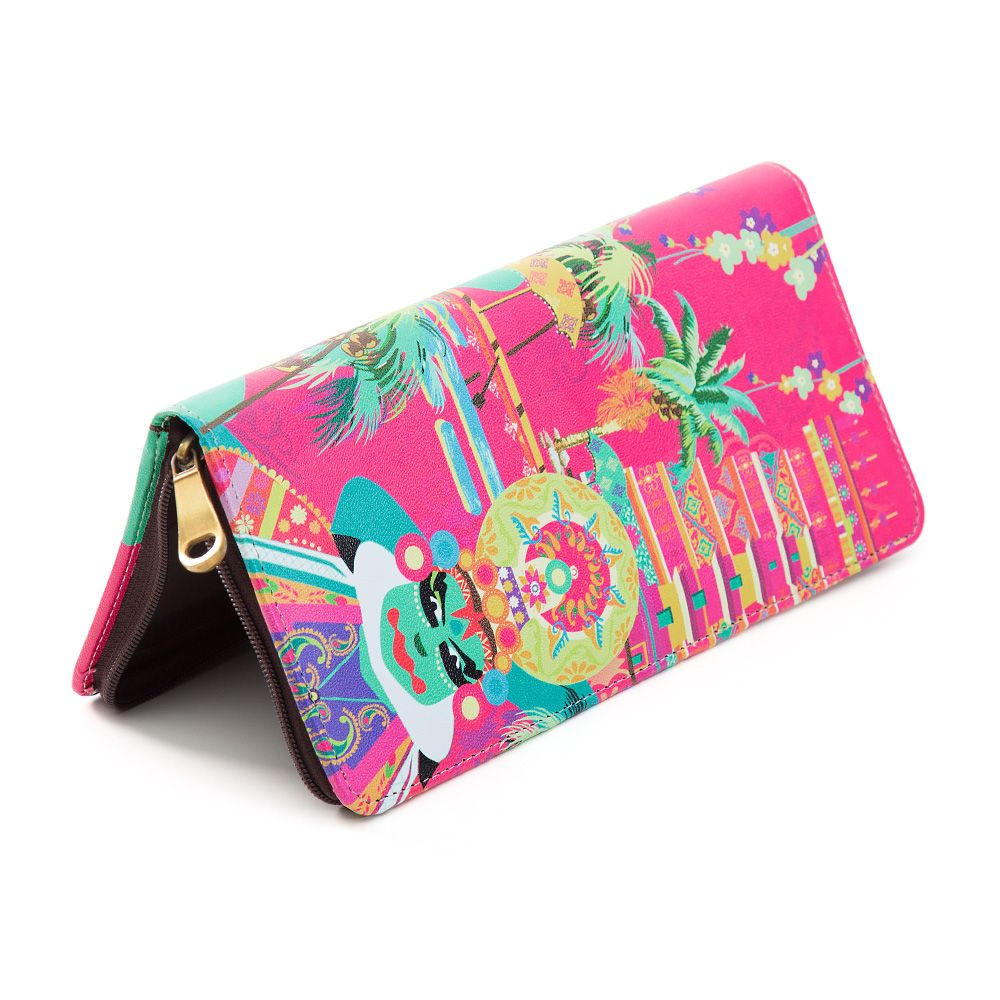 Kathakali Turbulence Travel Wallet