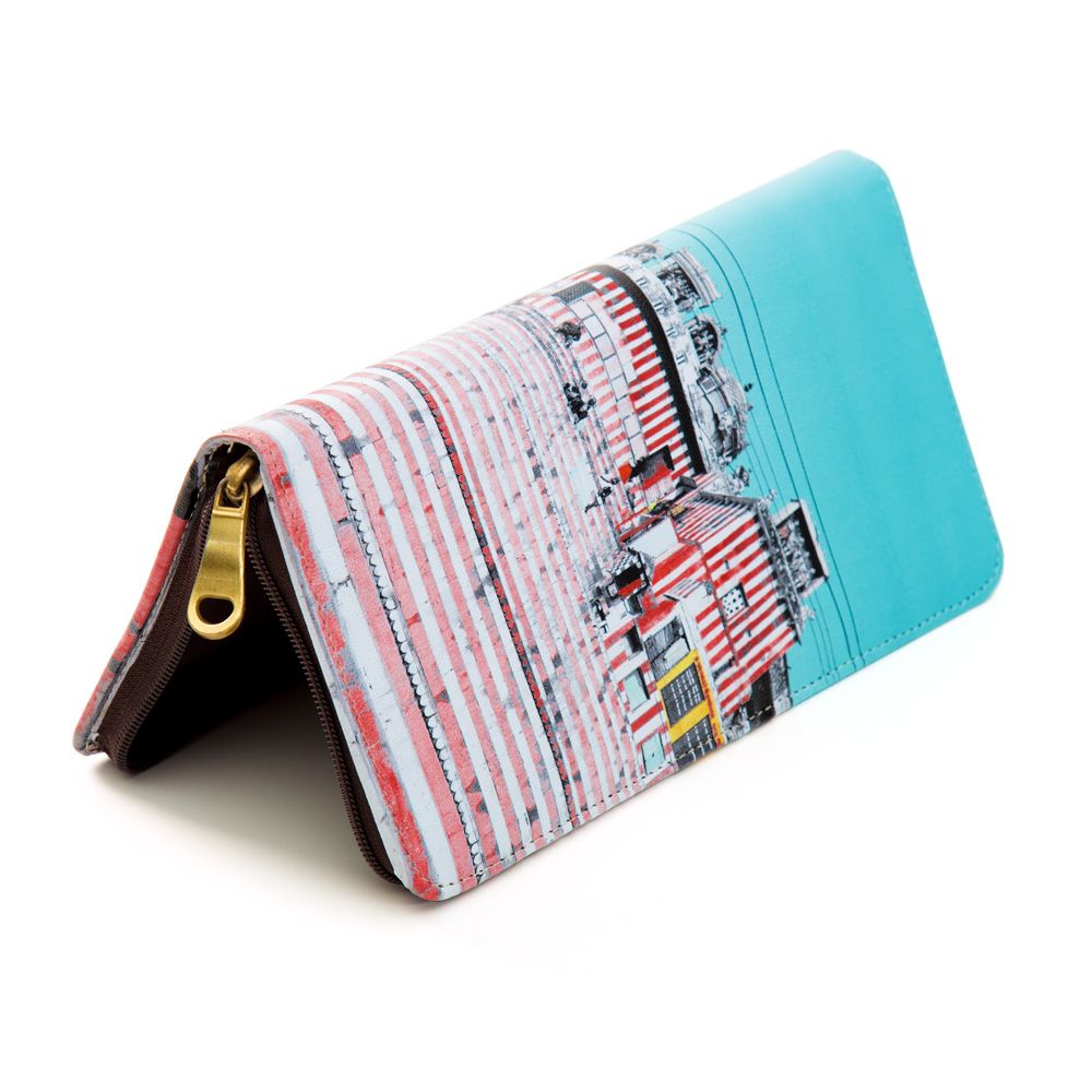 Charm of Chaos Travel Wallet