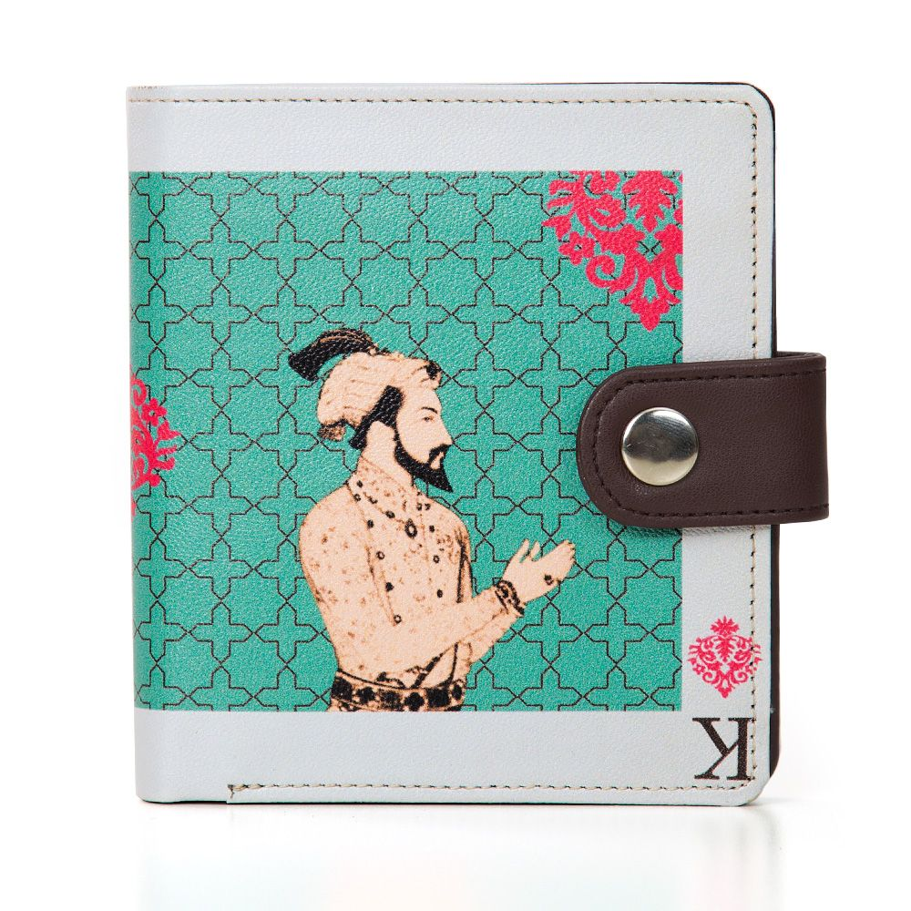 Mughal King Playing Card Unisex Wallet