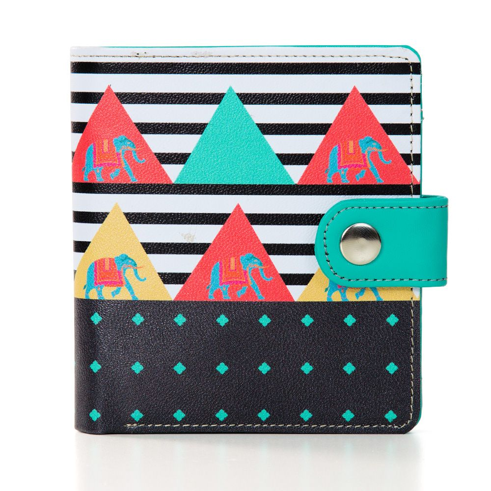 Triangular Tantrums Unisex Wallet